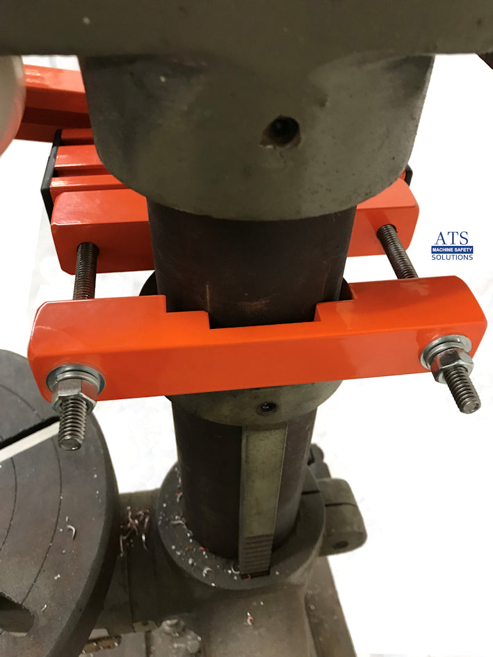 Drill Press Guard Econ Series Ats Machine Safety Solutions