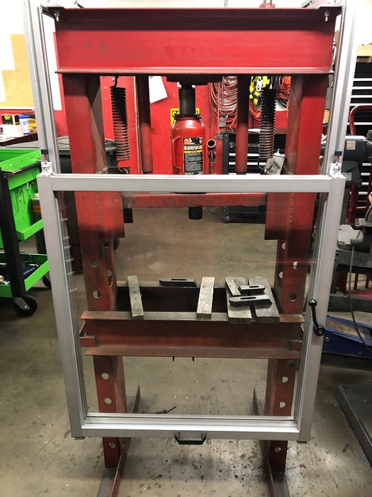 Hydraulic Press Guard ATS Safety