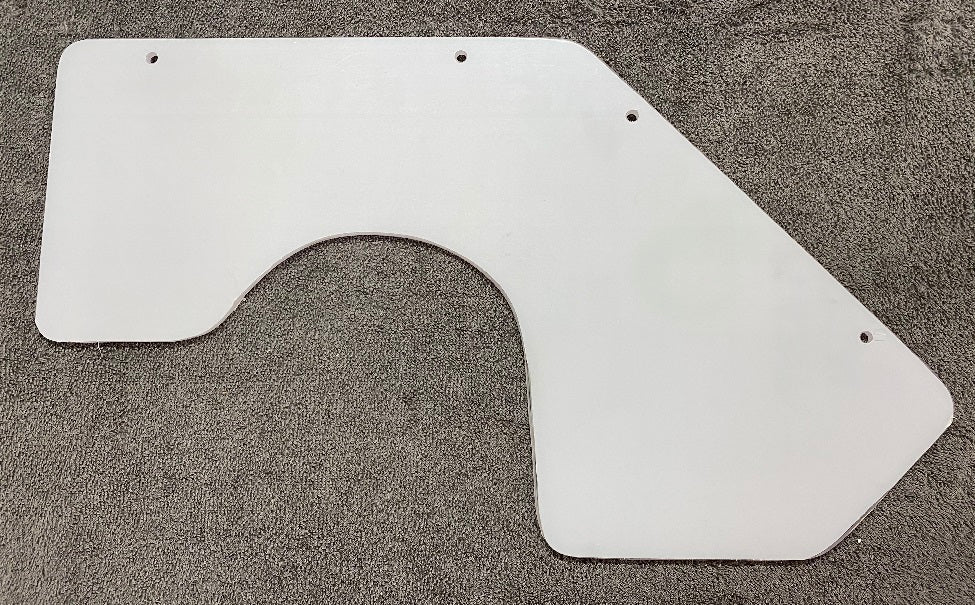 Replacement SIDE Lexan Panel for LG-TR Series Lathe Guards