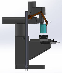 Floor Mount Milling Machine Guard