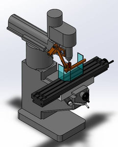 Head Mount Milling Machine Guard