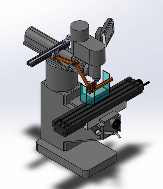 Ram Mount Milling Machine Guard