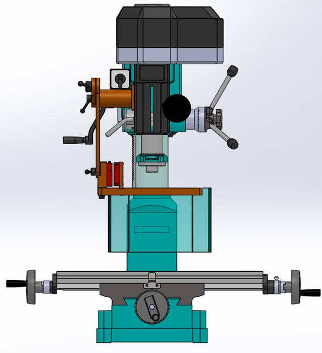 Universal Mount Milling / Drilling Machine Guard