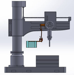 """Universal Mount"" Milling / Drilling Machine Guard"