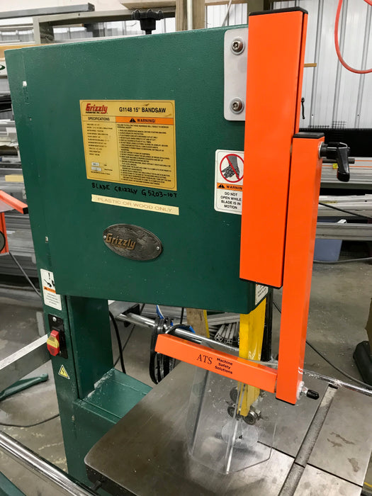 Vertical Band Saw Guard