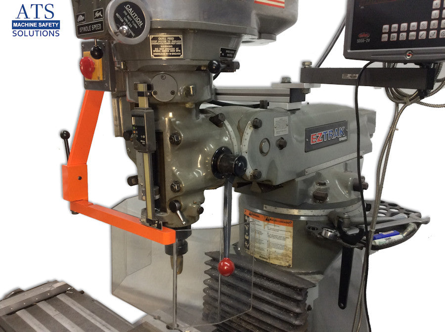 Ram Mount Milling Machine Guard  U2013 Ats Machine Safety Solutions
