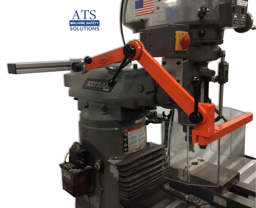 Milling Machine Safety Guard - ATS MG-3 Ram Mount