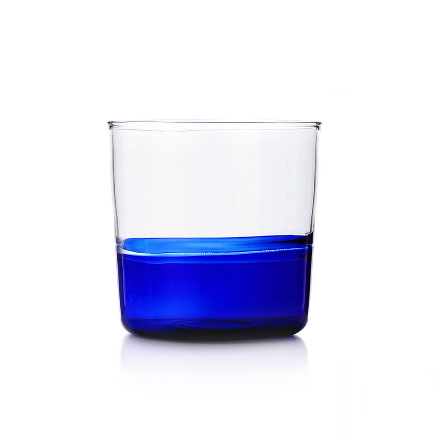 Ichendorf Milano - Water Glass - Blue bottom/ Clear