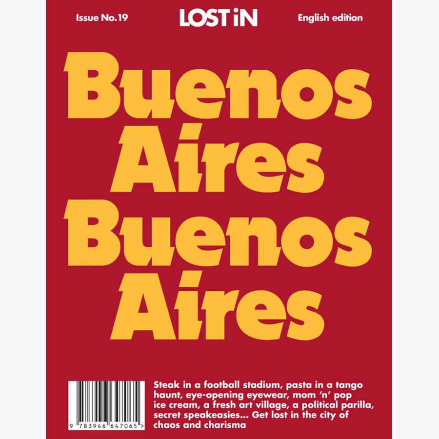 Buenos Aires Lost In City Guide. Shop Now