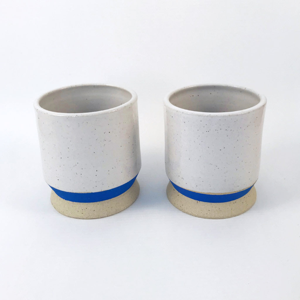 Milo Made Tumblers - Blue & White