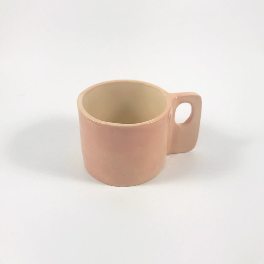 GVG Ceramic 60's Mug in Blush