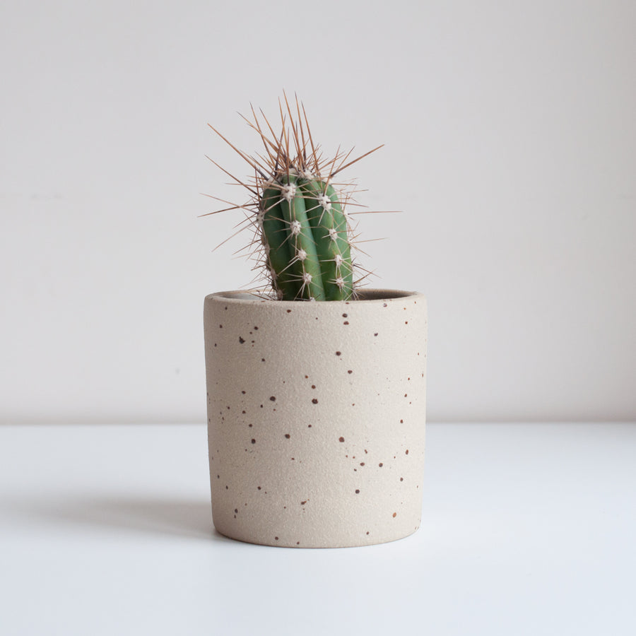 Dor & Tan - Small Planter - Speckled