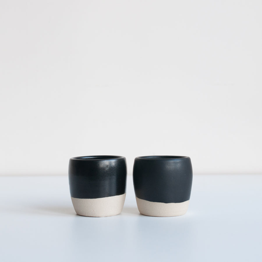 Dor & Tan - Espresso Cups - Matte Black