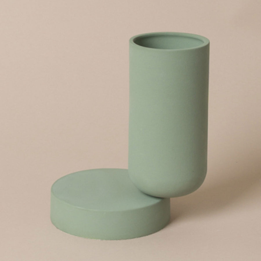 Los Objectos Decorativos - Duo Vase - Juniper