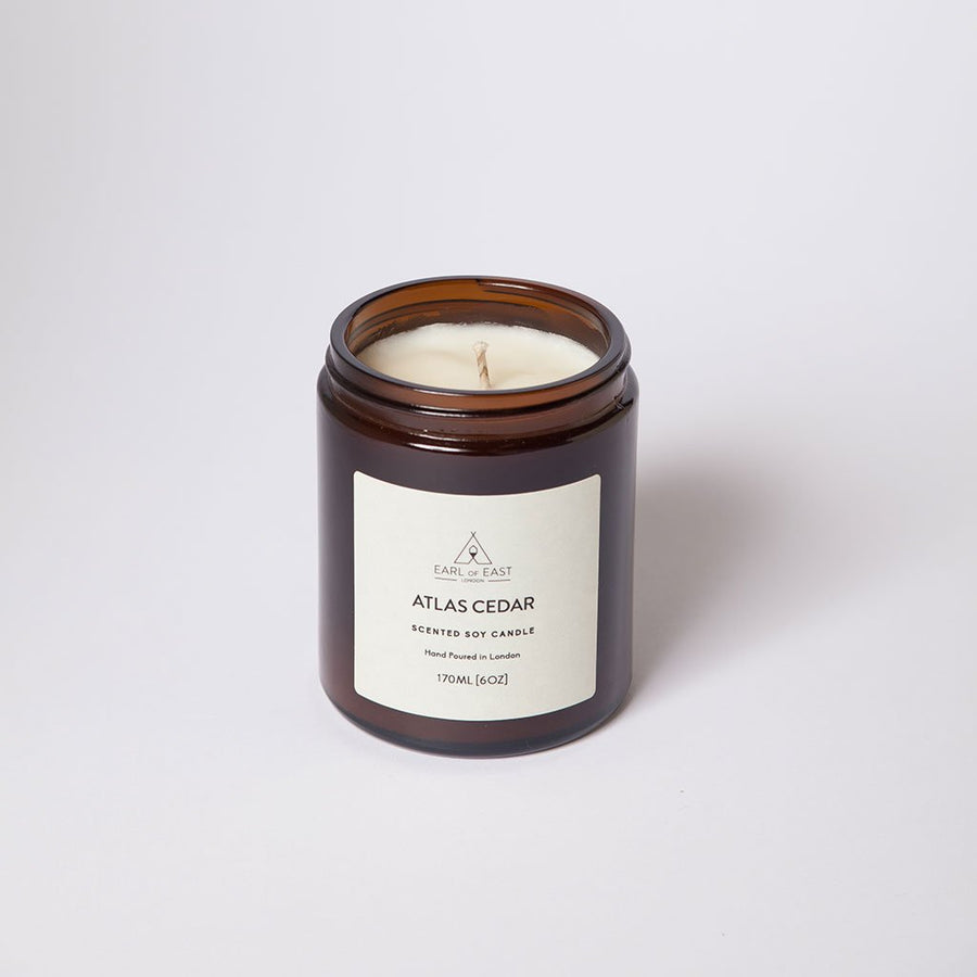 Atlas Cedar Medium Candle