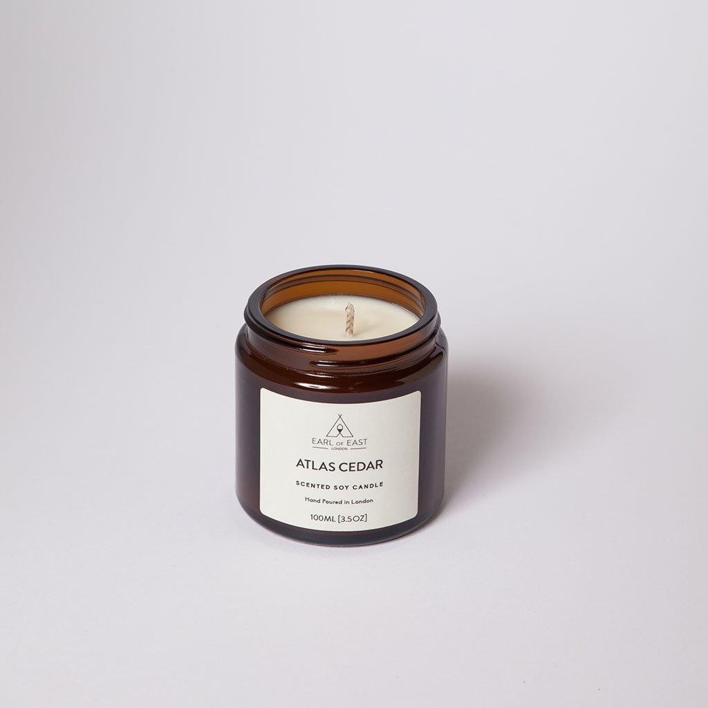 Atlas Cedar Small Candle