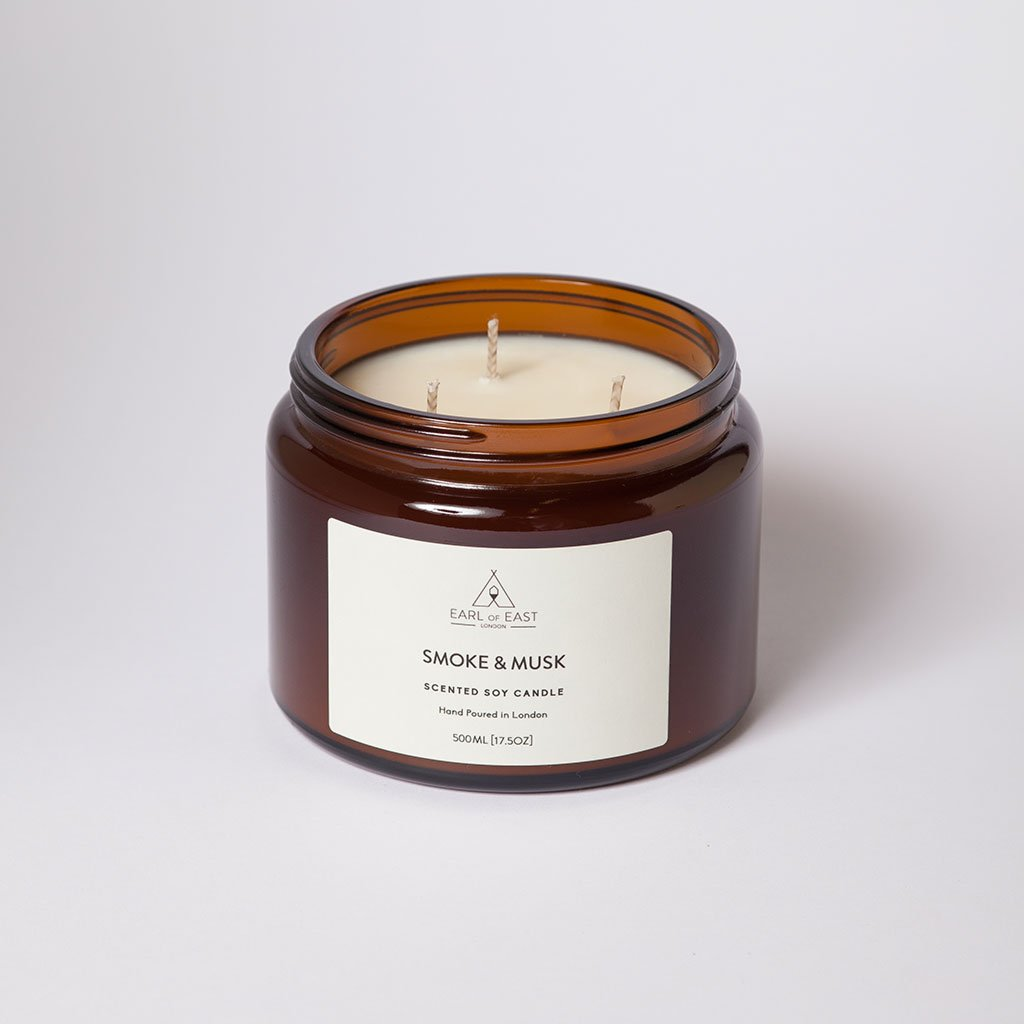 Smoke & Musk Large Candle