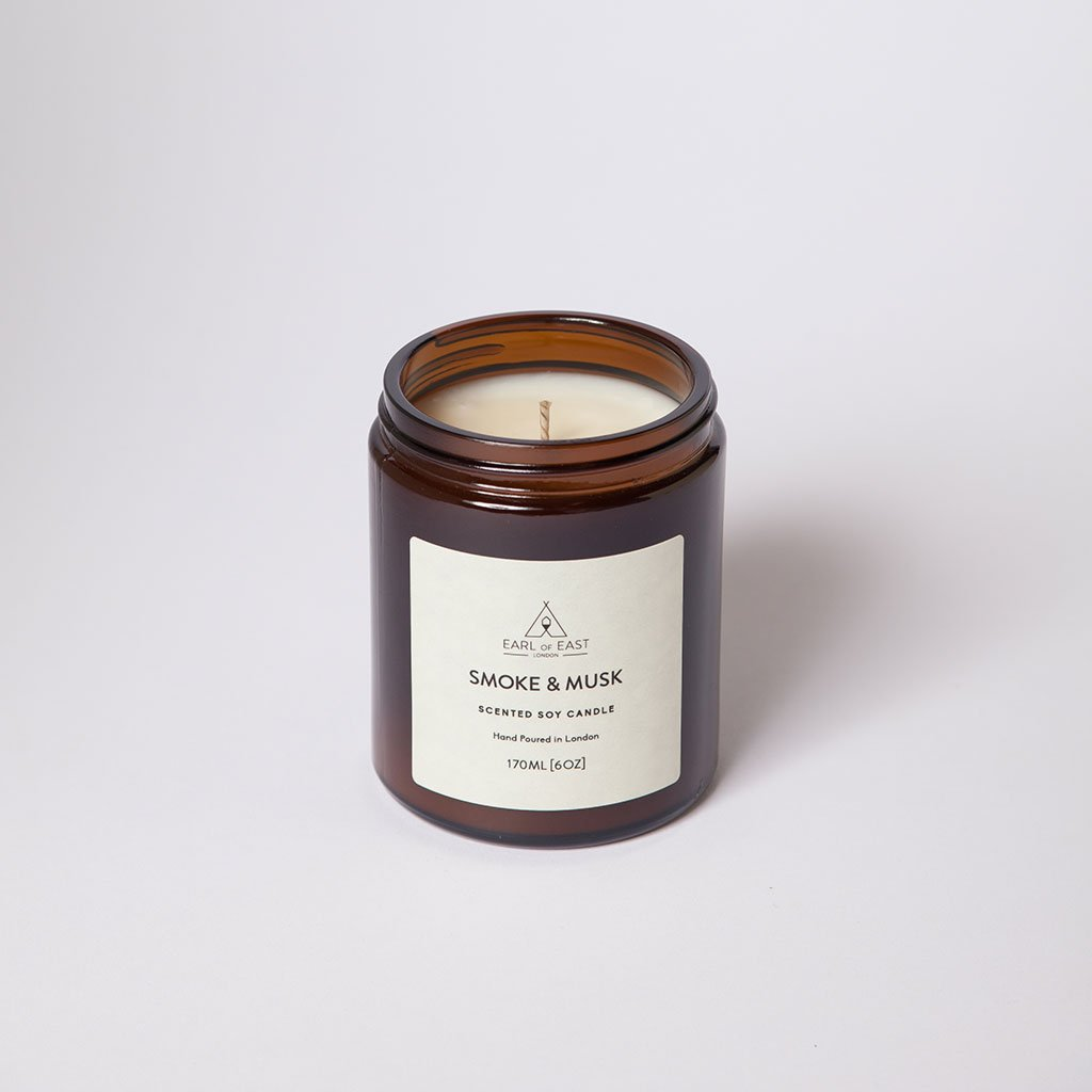 Smoke & Musk Medium Candle