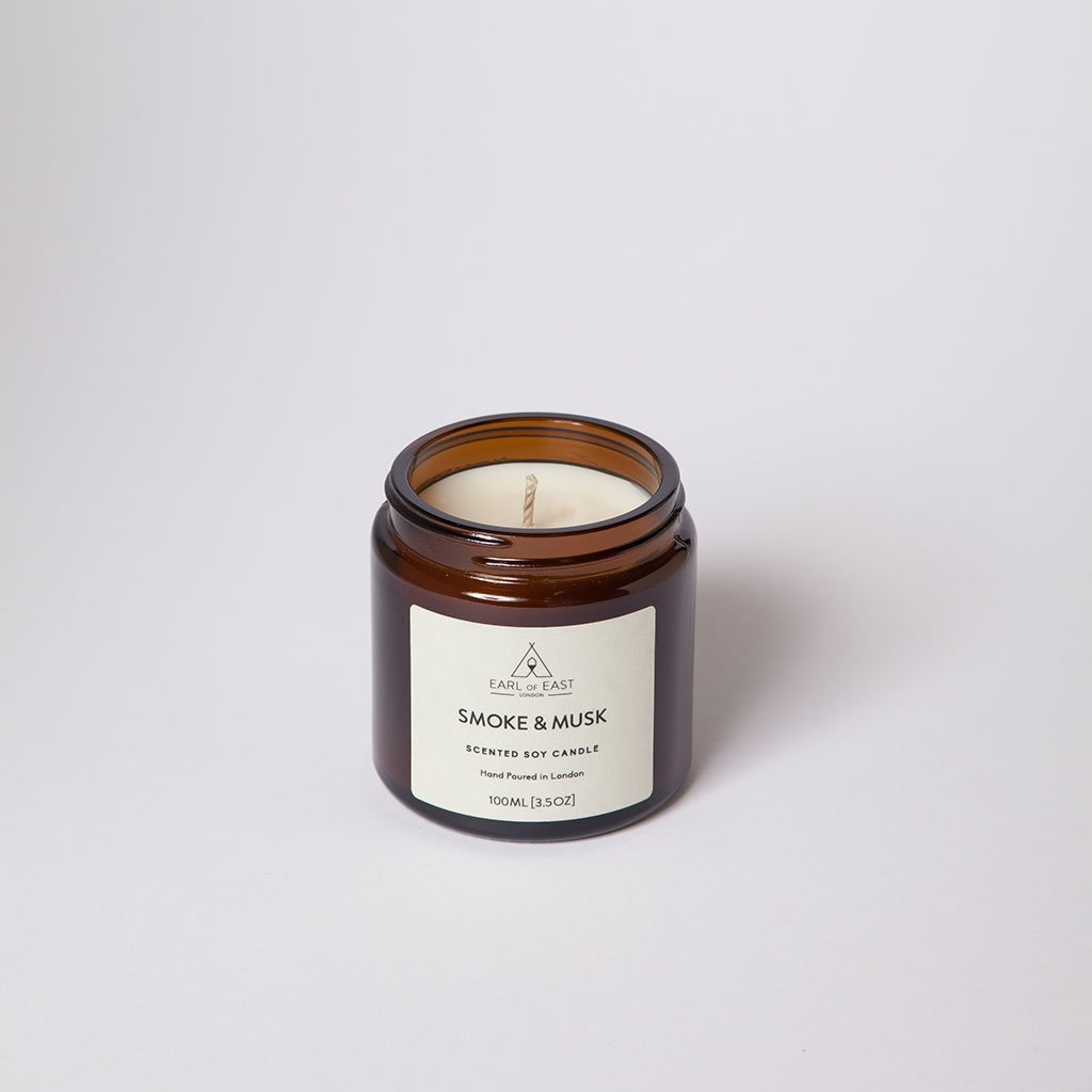 Smoke & Musk Small Candle