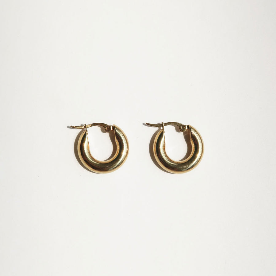 Common Muse - Freja Hoop Earrings - Small