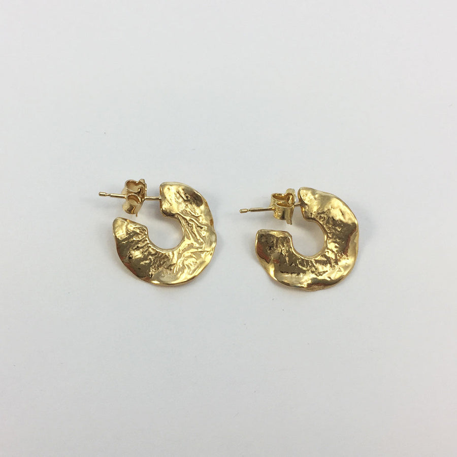 Shop gold evey hoops by Phoebe Simpson