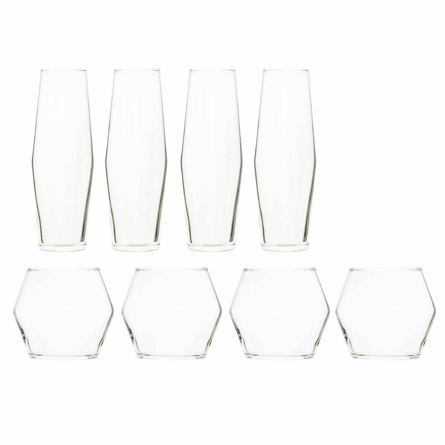 HEX Flutes and Tumblers Set shop now