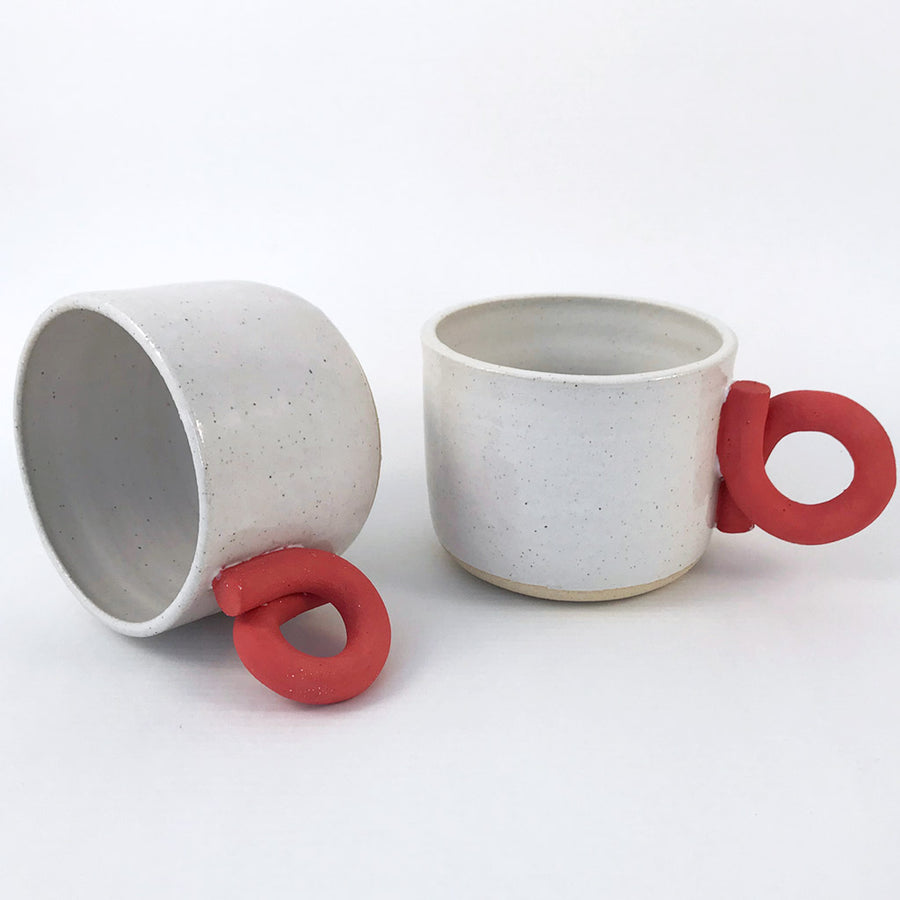 Milo Made Red Squiggle Mug
