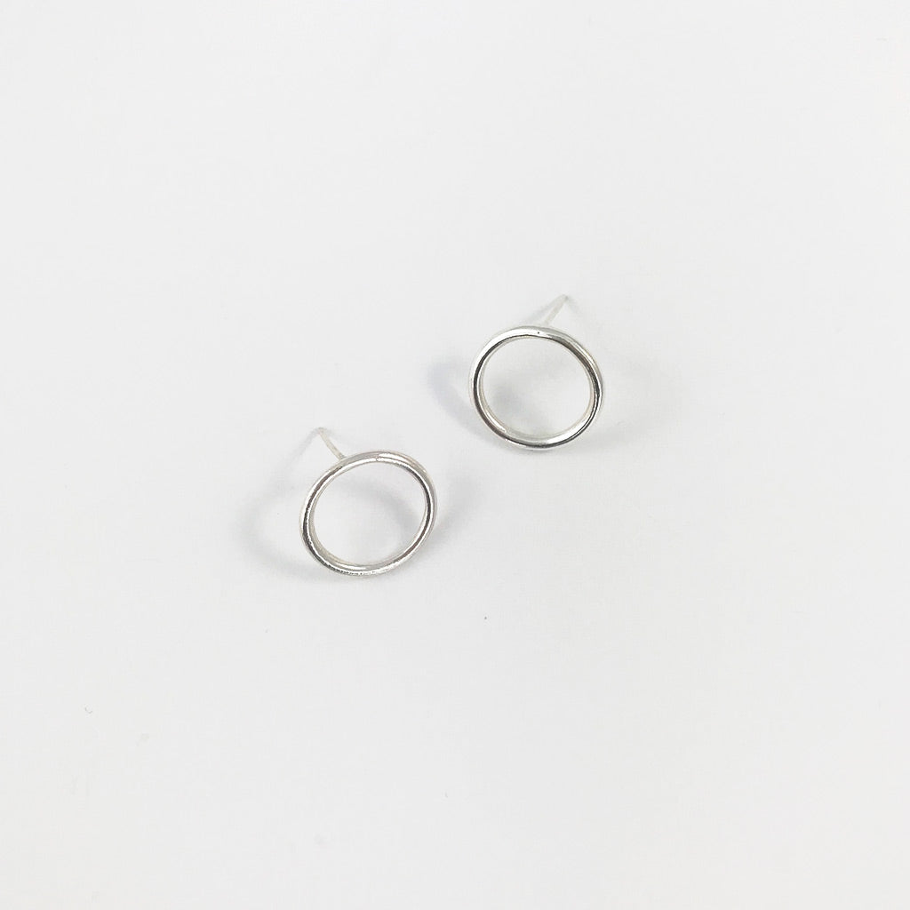Shop Silver Circle Earrings