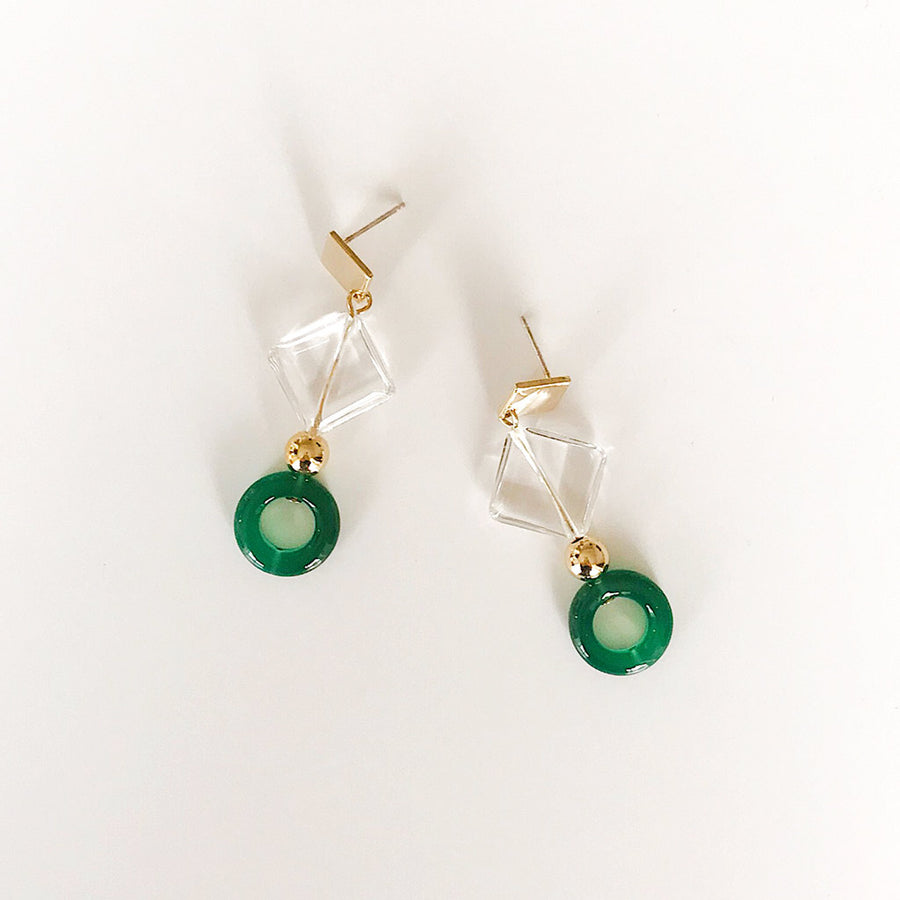 Project Bon - Verde Earrings