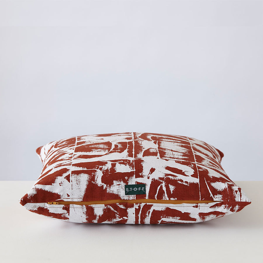 Bloc: Terracotta Cushion Shop Now