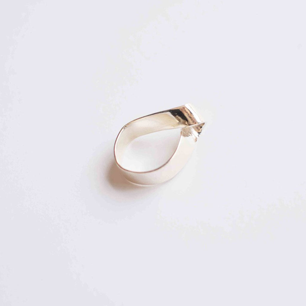 Zoe Morton Ring Silver