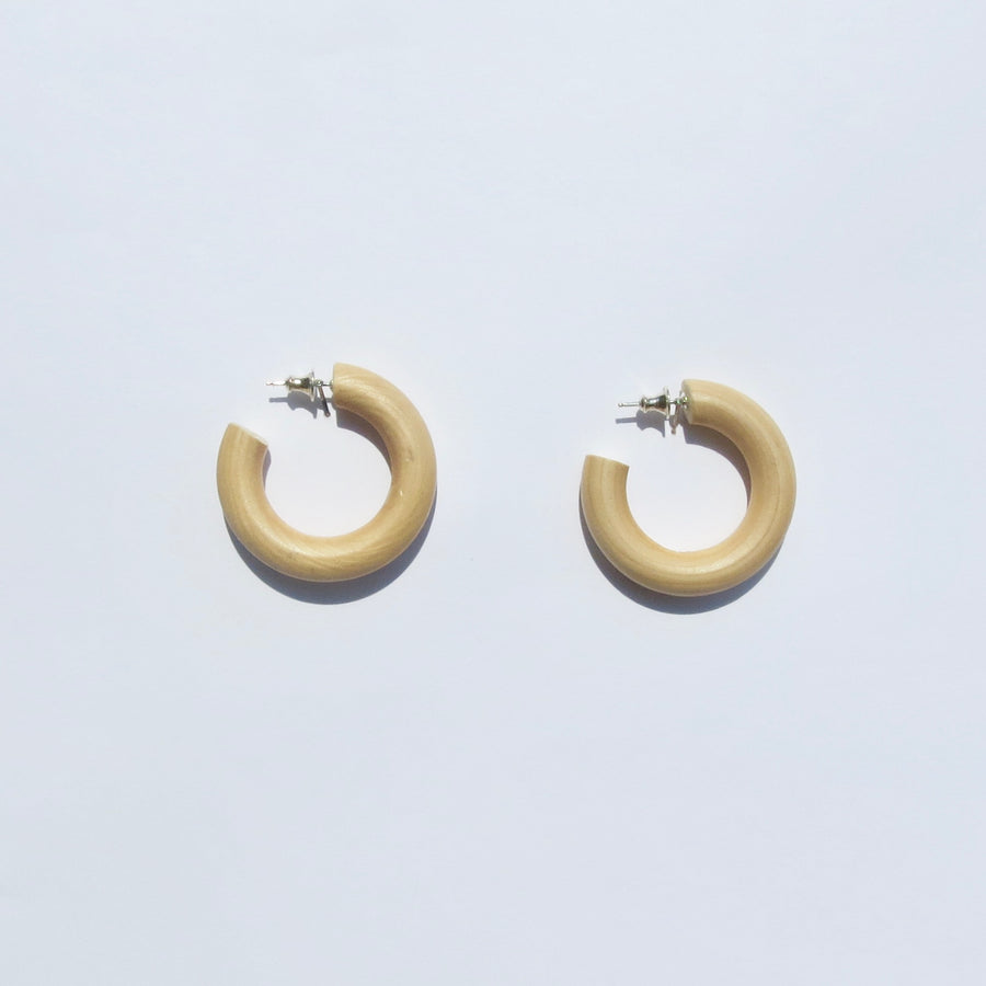 Iconic Earrings - Maple Wood - Medium