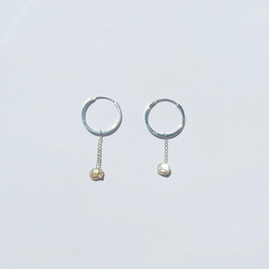 Venus II Silver Earrings