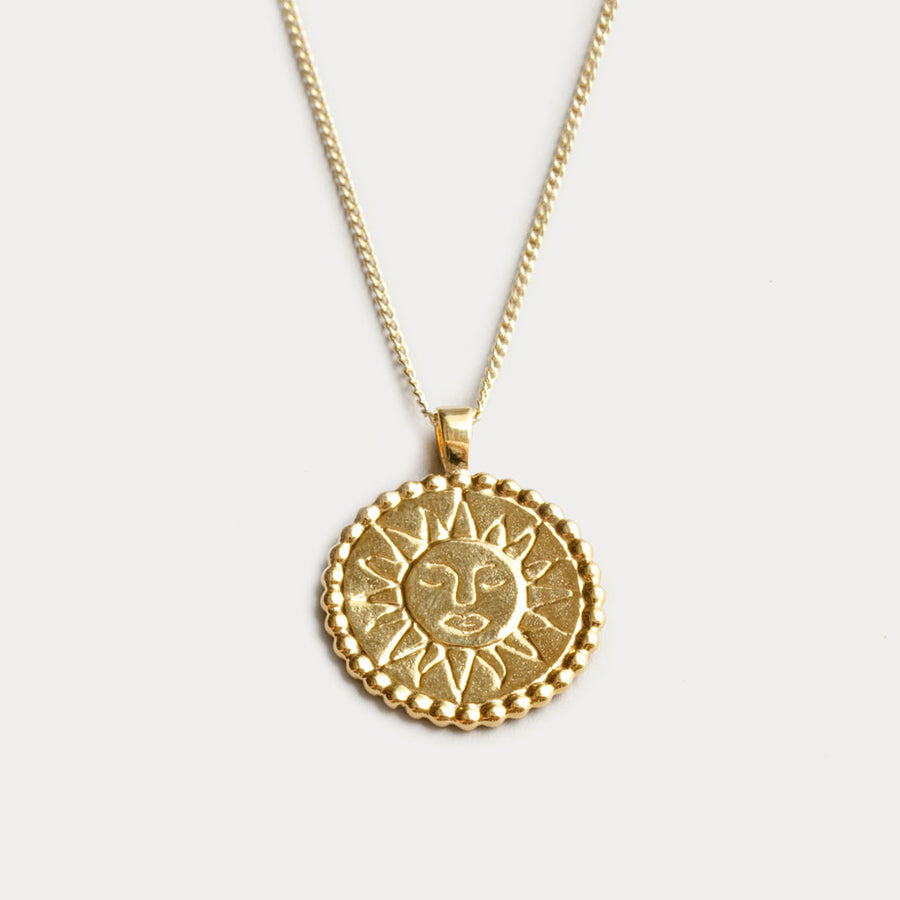 Wolf Circus - Lumen Necklace - Yellow Gold