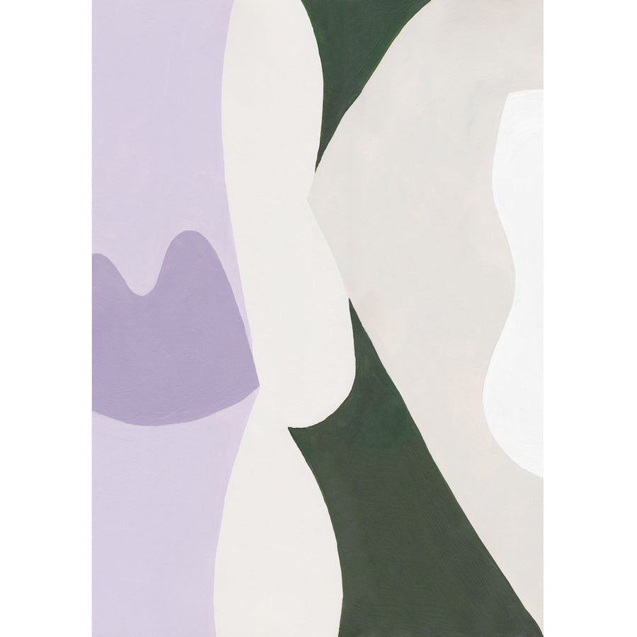 Laurie Maun - Lavenders Print