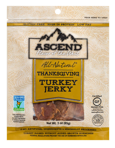 Ascend® Turkey Jerky - Thanksgiving