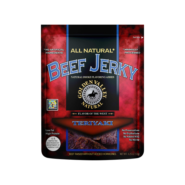 Natural Beef Jerky 3.25 oz - Teriyaki