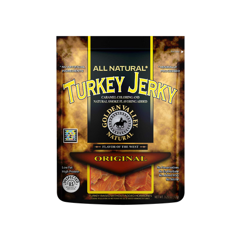 Natural Turkey Jerky 3.25 oz - Original
