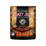 Natural Turkey Jerky 3.25 oz - Sweet n' Spicy