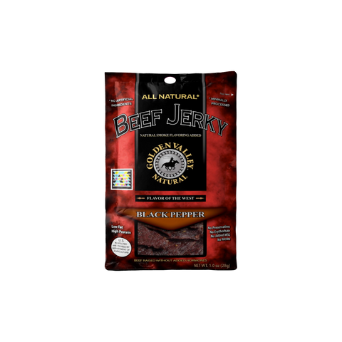 Natural Beef Jerky 1.0 oz - Black Pepper