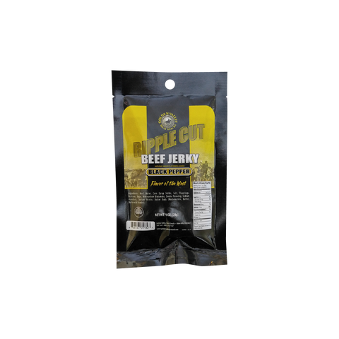 Classic Beef Jerky 1.0 oz - Ripple Black Pepper