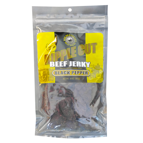 Classic Beef Jerky 10.0 oz - Ripple Black Pepper