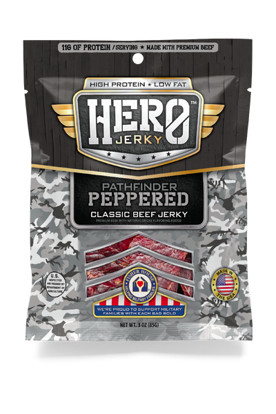 Hero™ Beef Jerky - Pathfinder Peppered