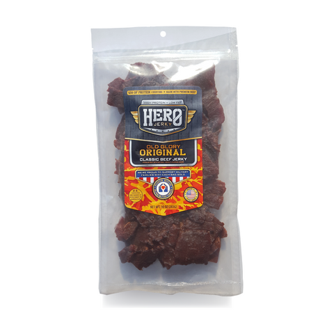 Hero™ 10 oz. Beef Jerky - Old Glory Original