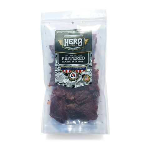 Hero™ 10 oz. Beef Jerky - Pathfinder Peppered