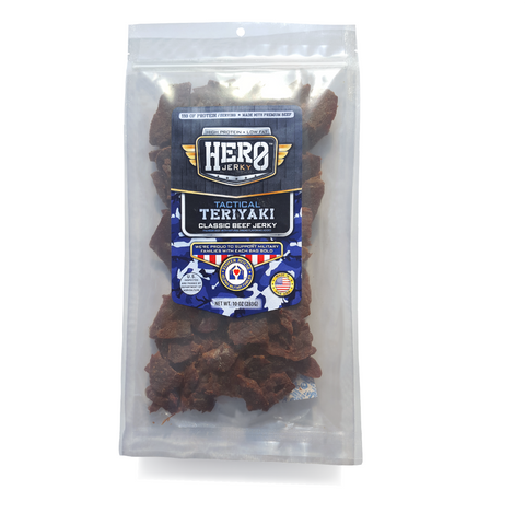 Hero™ 10 oz. Beef Jerky - Tactical Teriyaki