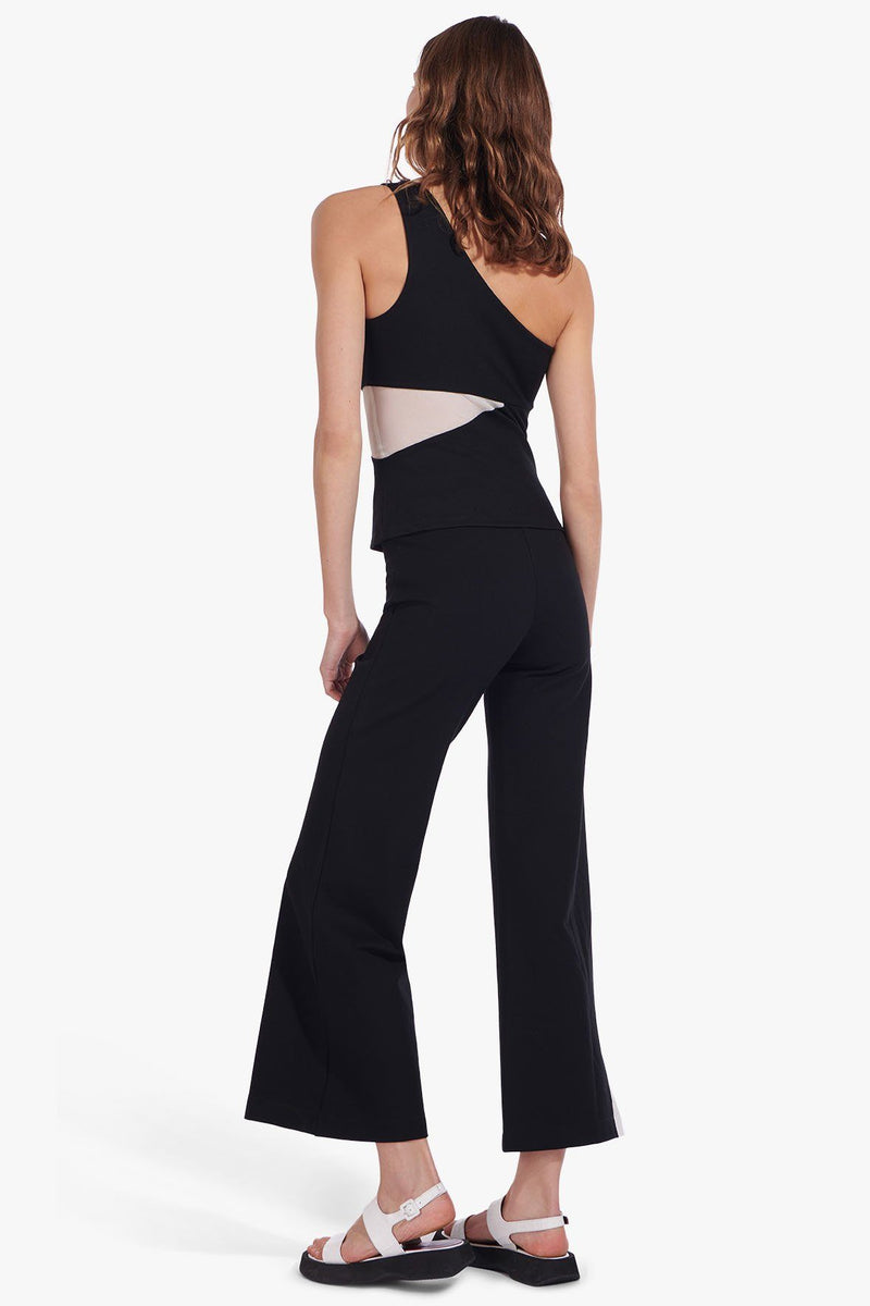 STAUD SHAYA PANT | BLACK WHITE
