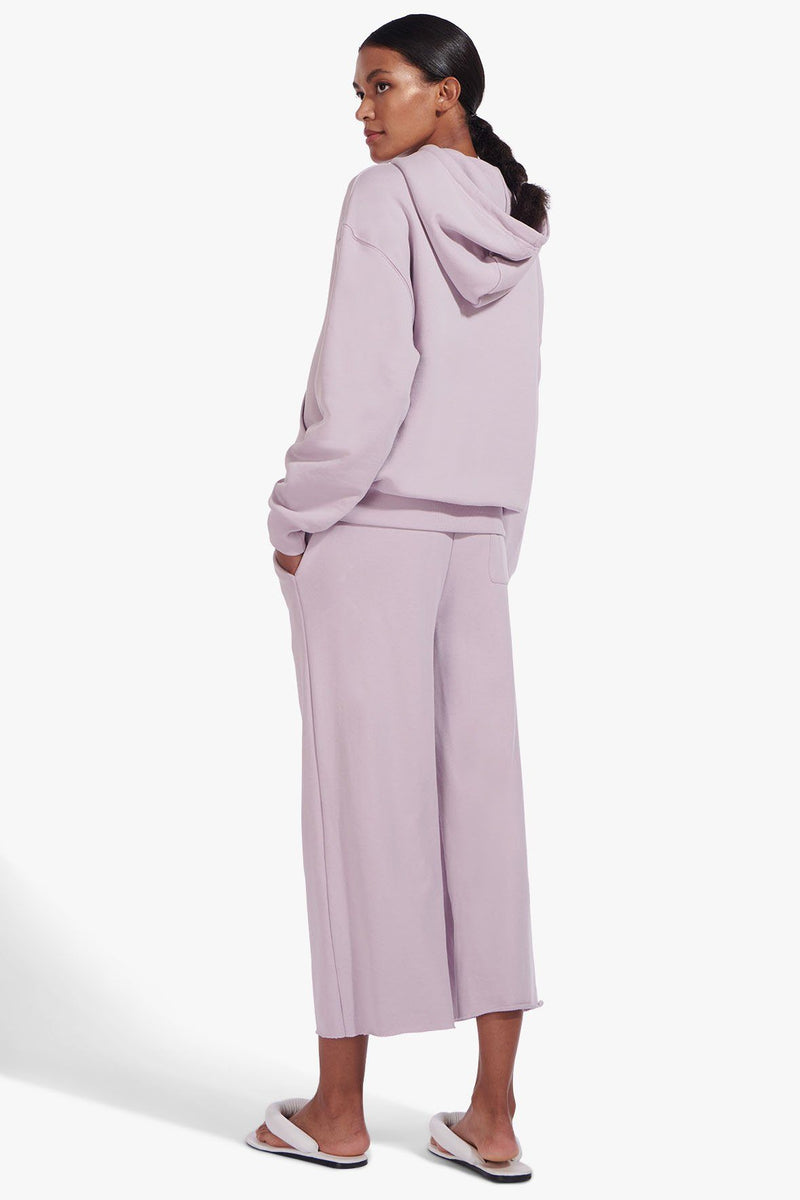 STAUD HOODED SWEATSHIRT | LAVENDER