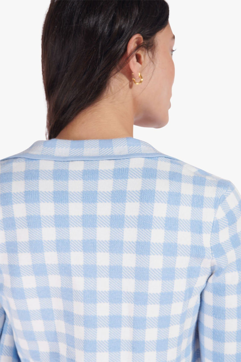 STAUD JULIETTE TOP | FRENCH BLUE