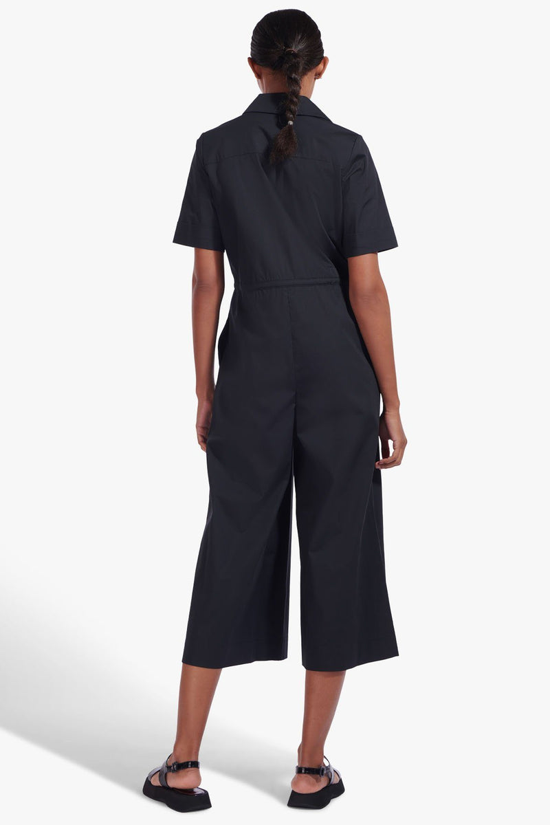 STAUD LUDO JUMPSUIT | BLACK